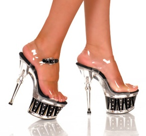 High Heel Stripper Shoes