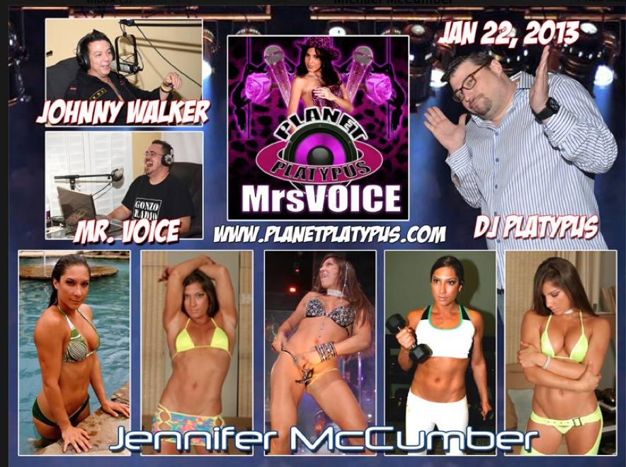 Jennifer McCumber featured on the Planet Platypus Radio Show